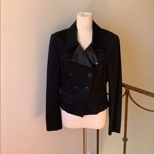 Armani Double Breasted Navy Military Coat - NWOT